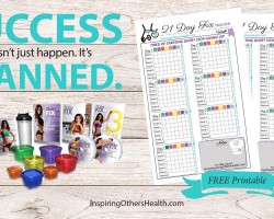 Planning for 21 Day Fix Success