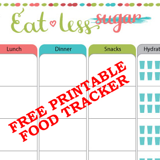 free-food-tracker-printable
